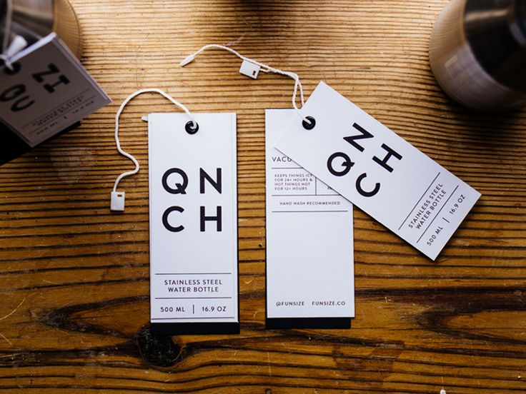 QNCH Hang Tags by Natalie Thai for funsize