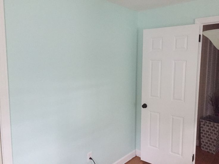 Sherwin Williams Embellished Blue for the nursery