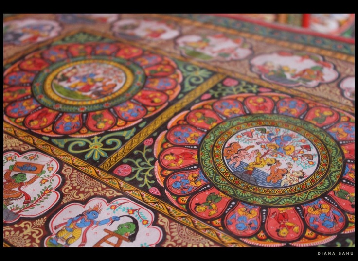 53 Best Odisha Pattachitra Paintings Images On Pinterest