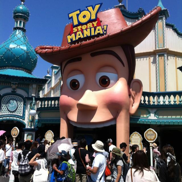 Toystory Mania @Tokyo Disny Sea