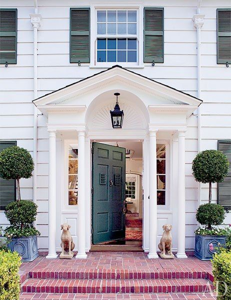 17 Best Ideas About Colonial Front Door On Pinterest Portico Entry Spanish