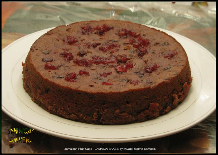 Jamaican Fruit Cake Jamaica Bakes By Miquel Marvin