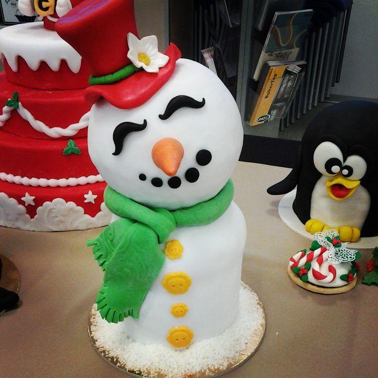 Panettone decorato Natale Pupazzo di neve Lievito naturale Omar Busi