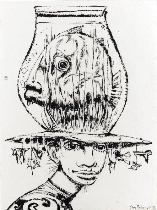 Abarat - Original illustration by Clive Barker, 1996