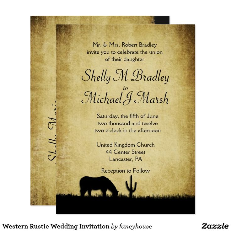 455 best Rustic Wedding Invitations images on Pinterest | Rustic ...