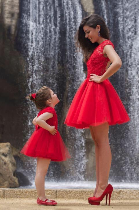 Matching bruidsjurken moeder en dochter trouwjurk elke soort