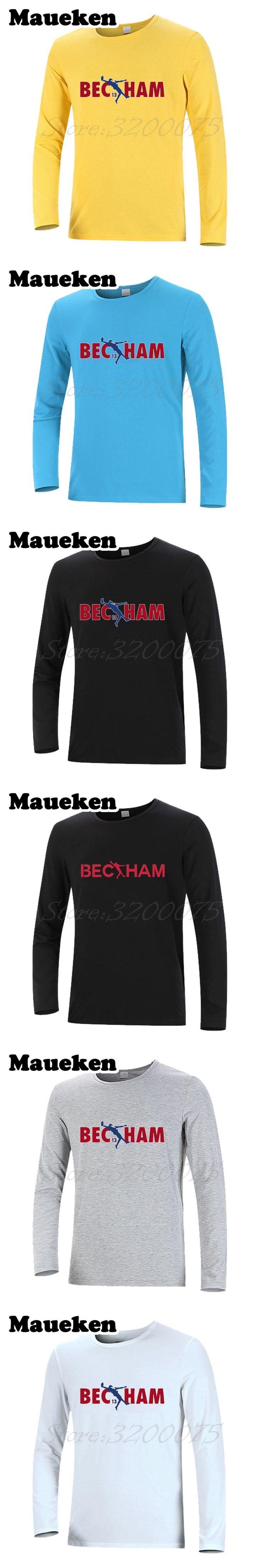Men Odell Beckham Jr 13 The Catch Logo T-Shirt Long Sleeve New York Clothes T Shirt giants Men's Autumn Winter W17100621