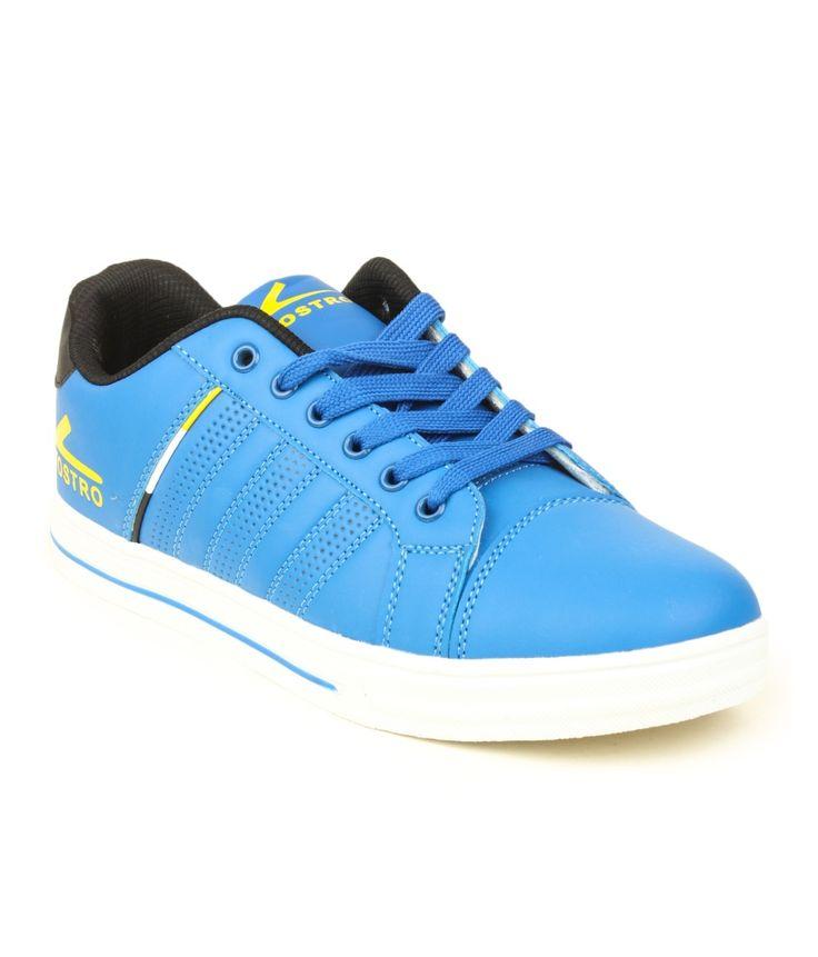 Vostro Blue Casual Shoes For Men