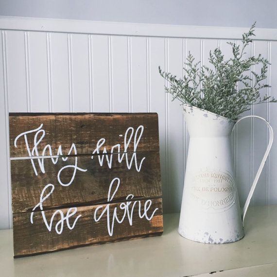 Christian wall art Scripture home decor wood by WordsWorthNoting