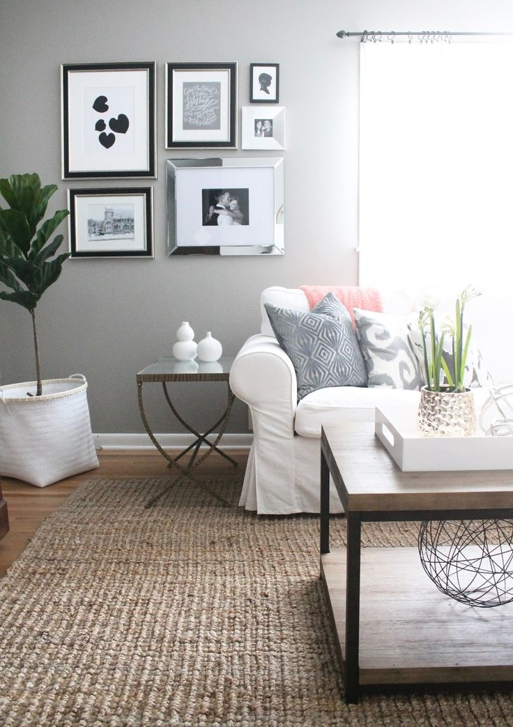 12th and White: Modern-Meets-Traditional Living Room Refresh
