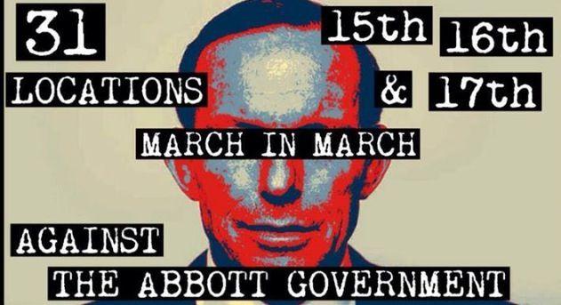 March in March Australia 2014