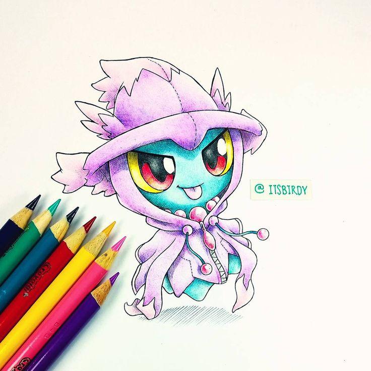 Artist: Itsbirdy   Pokémon   Misdreavus