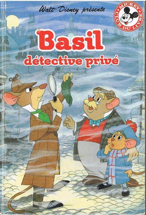 Couverture de Mickey club du livre -46- Basil détective privé
