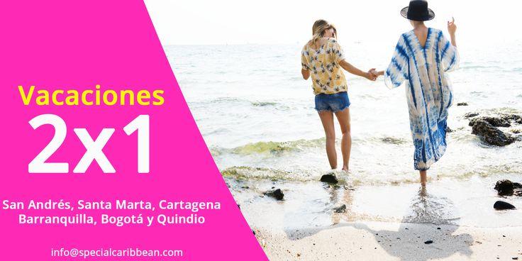 Aprovecha ya esta SUPER PROMOCIÓN! No lo dejes pasar! podrás disfrutar de las mejores vacaciones con quien tu quieras.  https://specialcaribbean.com/