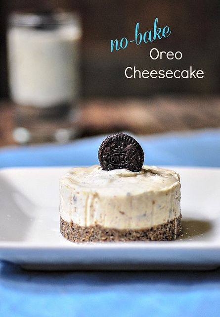 Eggless No-Bake Oreo Cheesecake Recipe | Eggless Cheesecakes by Nags The Cook, via Flickr
