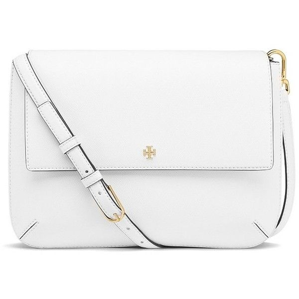 ROBINSON MESSENGER ❤ liked on Polyvore featuring bags, messenger bags, accessories, crossbody bag, handbags, tory burch, white bags, tory burch crossbody, crossbody messenger bag and cross body messenger bag