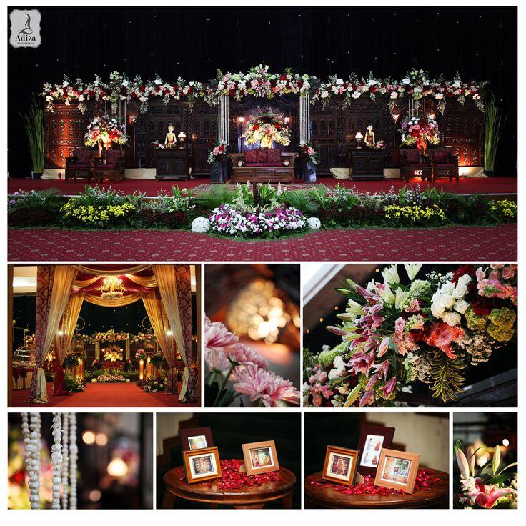 Javanese wedding decoration Decorator : Safira Maharani