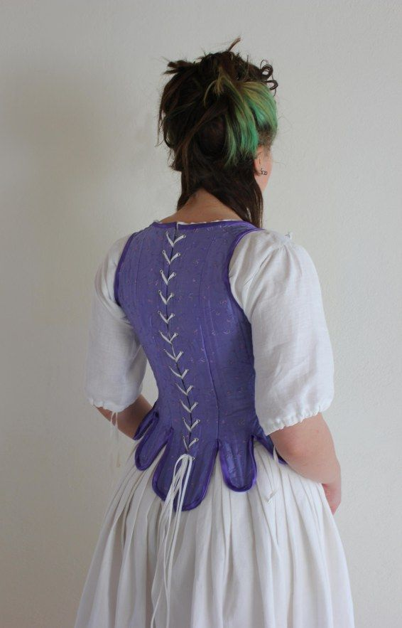 18th century corset | made by AffeGlass