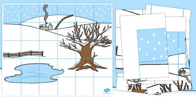 Winter+Themed+Bee+Bot+Mat
