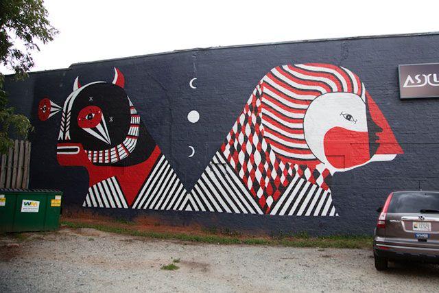 Living Walls 2012: Fefe Talavera   Atlanta, GA 30316   EAST ATLANTA