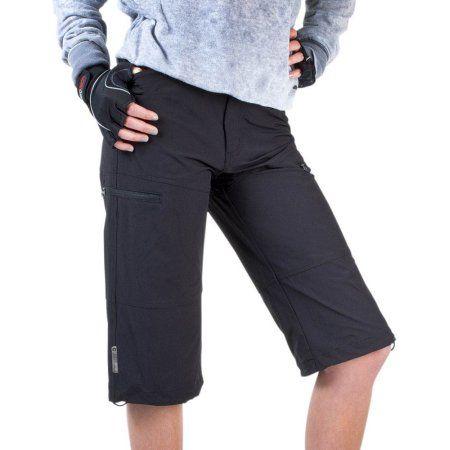 Aero Tech Women's Urban Pedal Pushers - Knickers - Stretch Woven w Cargo Pockets