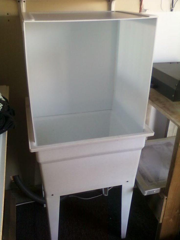 Home Made Washout Booth - T-Shirt Forums