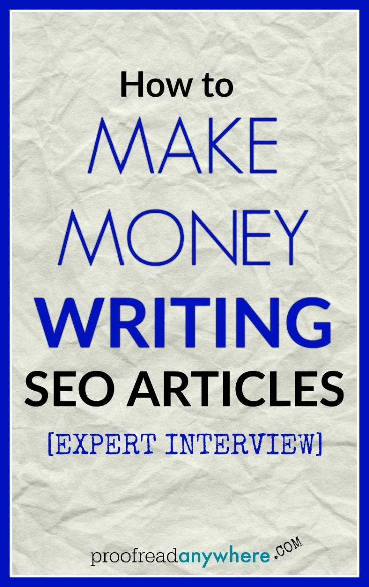 how to make money from seo