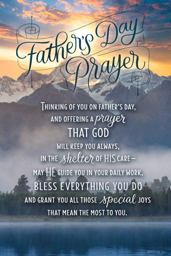 """""""Father's Day Prayer"""" Father's Day eCard Blue Mountain"""