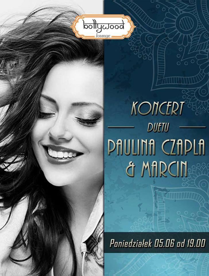 Z cyklu Poniedziałkowe koncerty Paulina Czapla oraz Marcin @ Bollywood Lounge :) http://www.bollywoodlounge.pl/