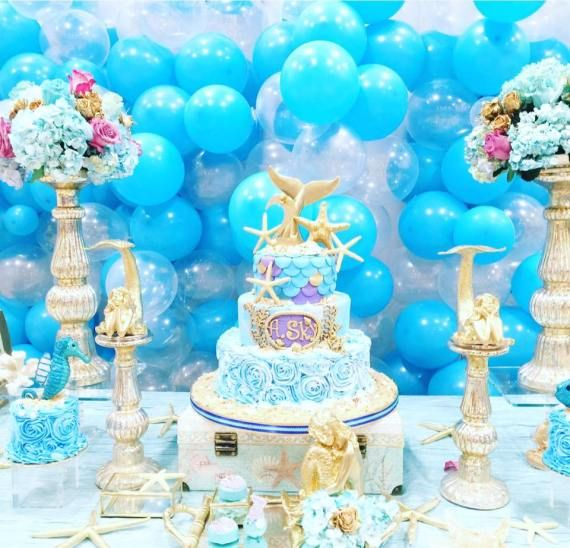 Magical-Little-Mermaid-Birthday-Cake