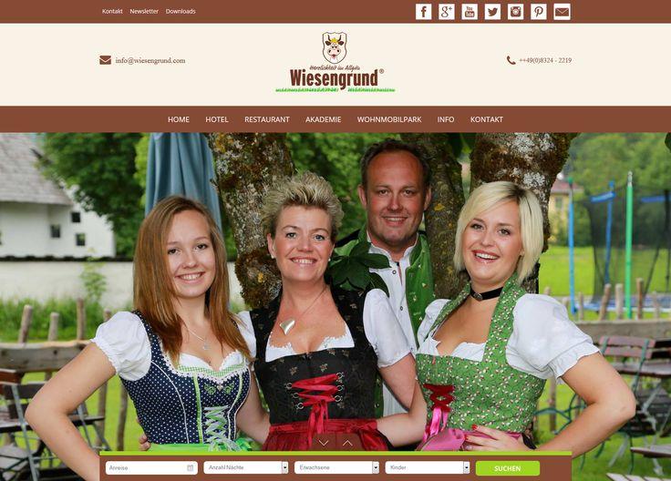 unsere neue #Homepage www.wiesengrund.com