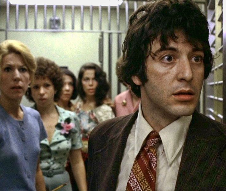Al Pacino in Dog Day Afternoon, 1973