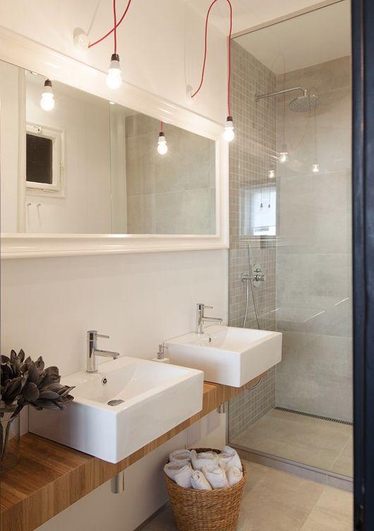 Narrow Farmhouse Sink : Simple Times: Taste of Prague: Likes Bathrooms, 10 Bathroom, Bathroom ...