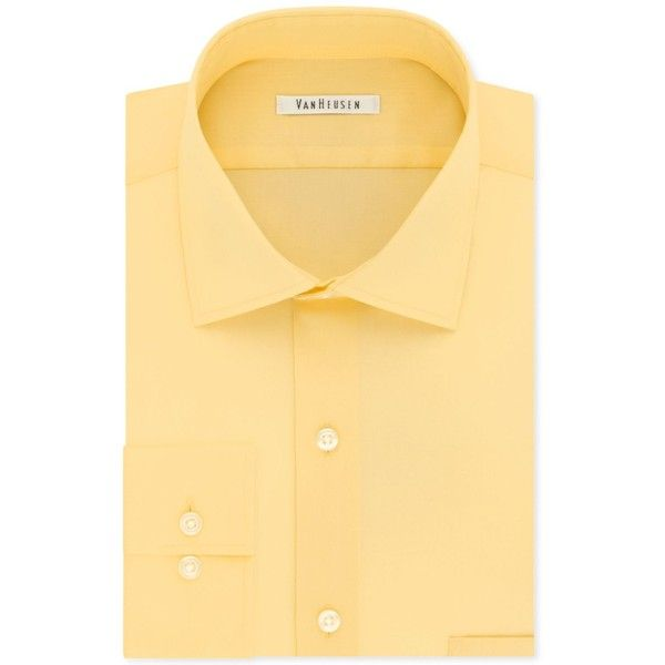 Van Heusen Men's Classic-Fit Wrinkle Free Flex Collar Solid Dress... (€33) ❤ liked on Polyvore featuring men's fashion, men's clothing, men's shirts, men's dress shirts, cane, wrinkle free mens shirts, mens classic fit shirts, men's wrinkle free dress shirts, mens stretch shirts and mens dress shirts