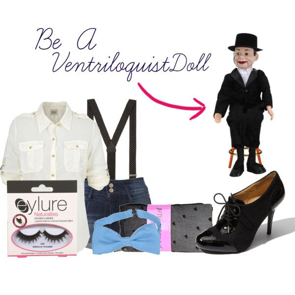 """Ventriloquist Costume!"" by shopaholic415 on Polyvore"