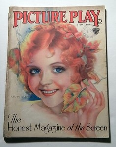 NANCY CARROLL PICTURE PLAY 1929