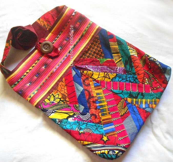 Barefoot Modiste: Crossbodi Bags, Style, Bright Africans, Sling Bags, Africans Patchwork