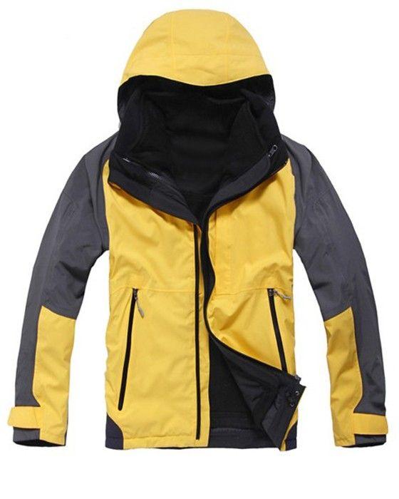 Hiking Outdoor Long Sleeve Waterproof Breathable Windproof Men39s Jacket  Price: $196.54 USD