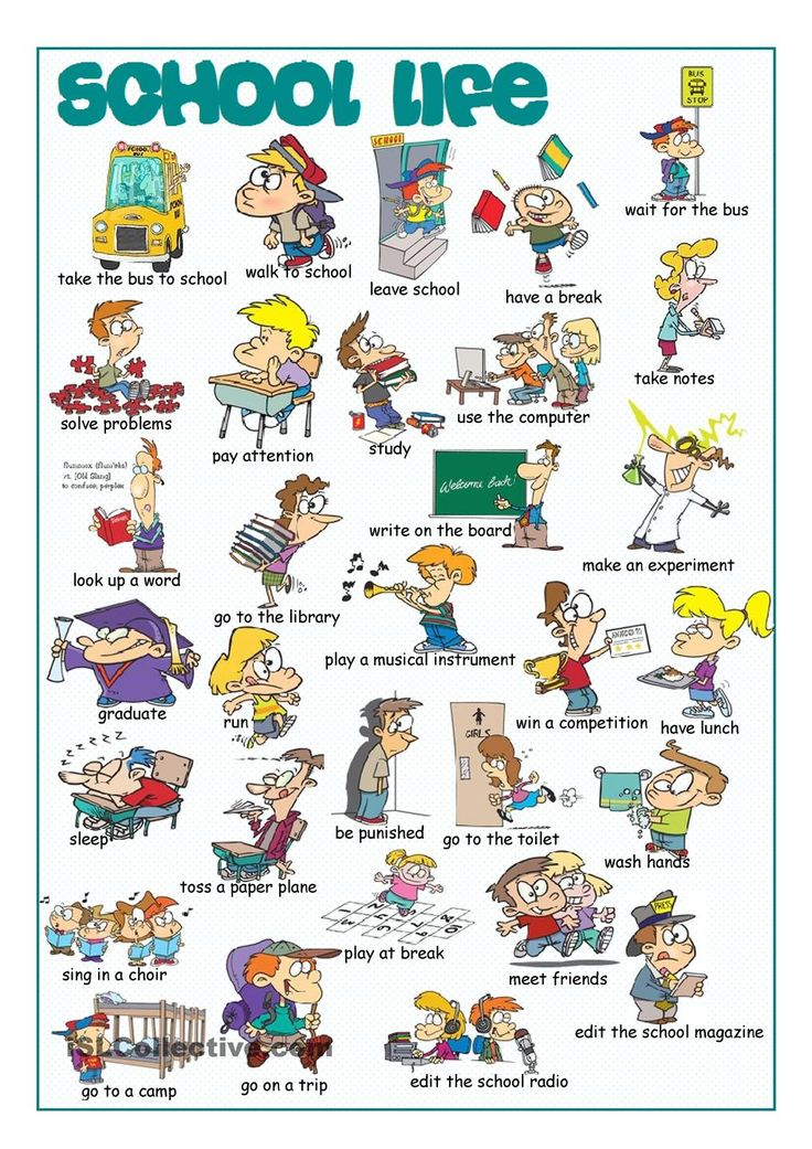 School life picture dictionary 1 english pinterest for Forward dictionary