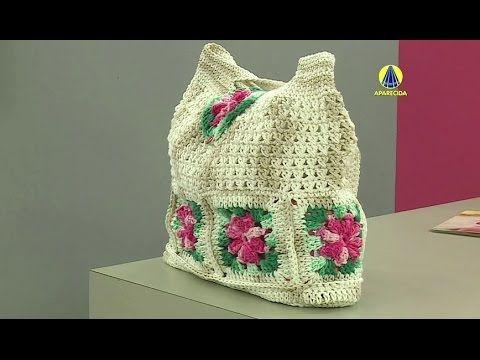 Vida com Arte | Bolsa com flores em crochê por Marta Araujo - 05 de abri...