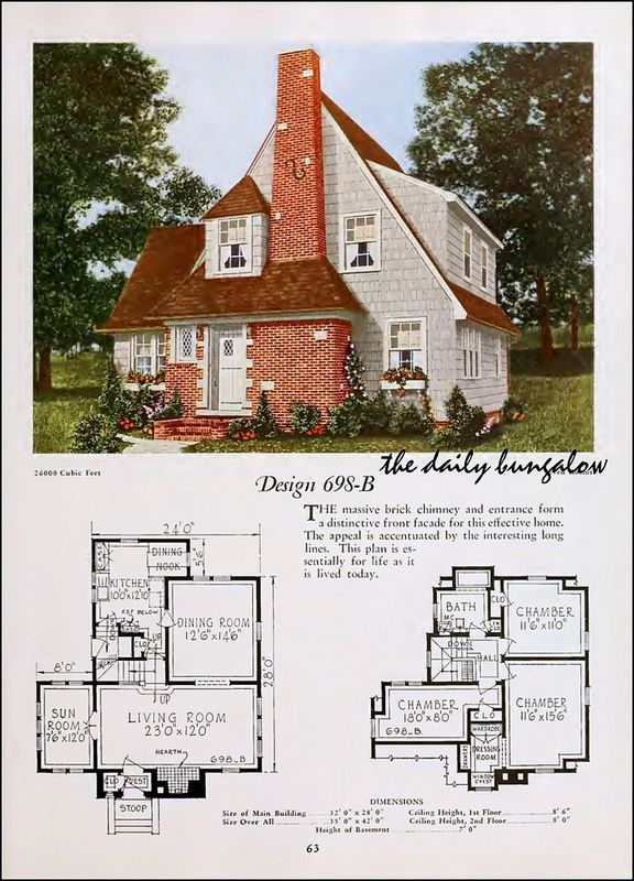 266 best images about vintage home plans on pinterest for Antique house plans