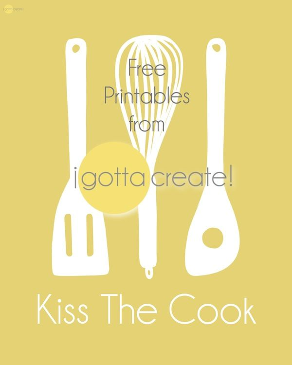 337 best -♥- Pretty Printables: Kitchen -♥- images on Pinterest ...