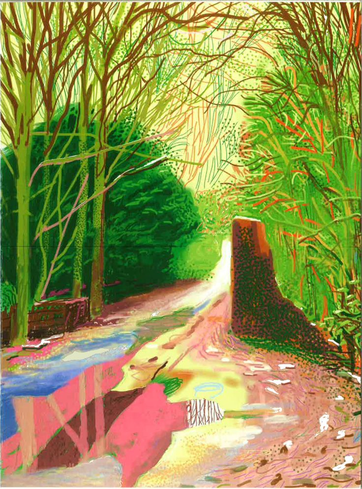 David Hockney: The Arrival of Spring, 9 July - 29 August 2014