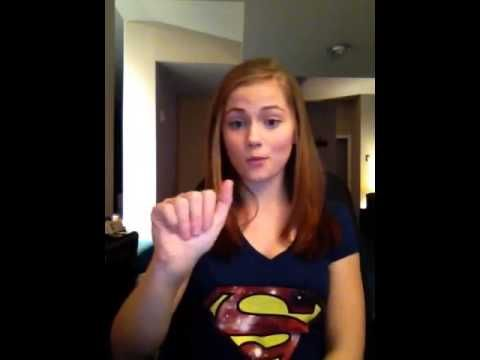 ▶ Katy Perry - Roar song in ASL (American Sign Language)
