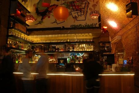 Cargo, great club by Old Street. Ambient atmospheric lighting, full of all the character of a trendy London nightclub. It has a genuine Banksy painting in the garden, too - along with a cool photo booth!