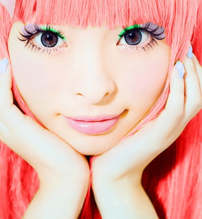 Kyary ~  model, blogger, and recording artist associated with the Harajuku district of Tokyo.