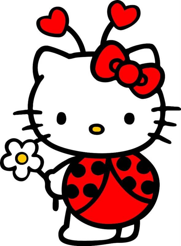 556 best Ladybugs images on Pinterest Ladybugs, Lady bugs and Chinese - fresh hello kitty ladybug coloring pages