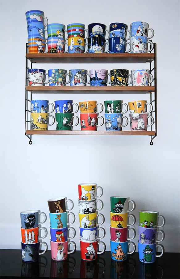 Passion for moomin mugs