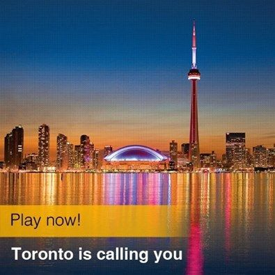 Win a free trip to Toronto & Niagara Falls on Lufthansa! Contest ends August 31st.  Solve a crossword to win - https://apps.facebook.com/lhtoronto  Prize includes a Lufthansa ticket and 2 nights each in downtown Toronto and Niagara Falls!