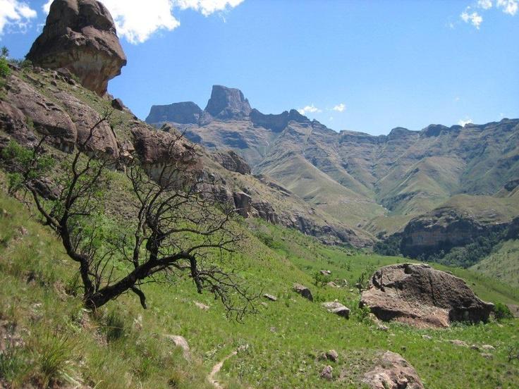 The Drakensberg- Kwa Zulu Natal